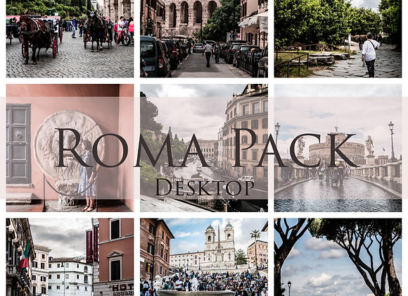 Roxane Fréché Roma Lightroom Desktop Presets Pack