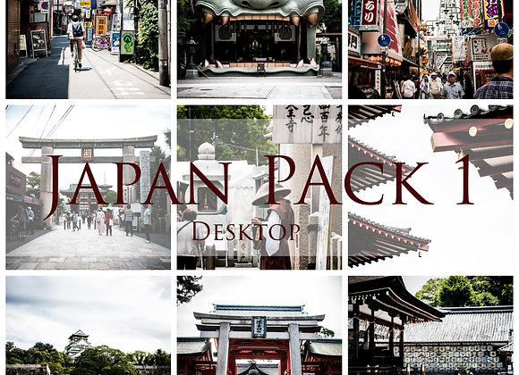 Roxane Fréché Japan Lightroom Desktop Presets Pack 1