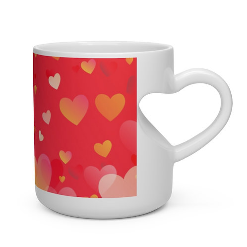 Heart Design Heart Shape Mug