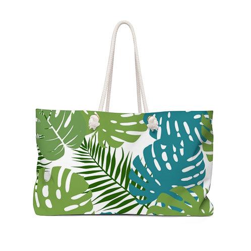 Palm Leaves Weekender Bag