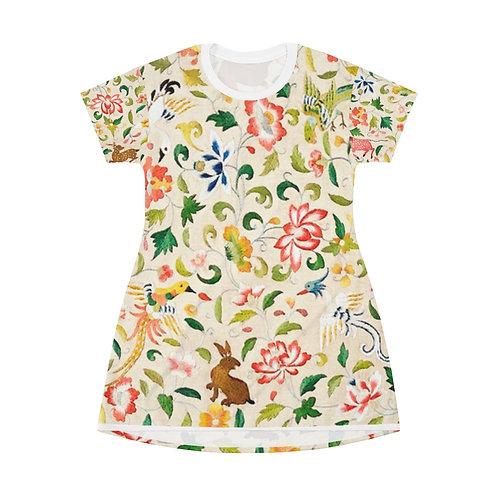 Decorated T-Shirt Dress