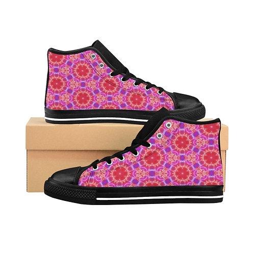 Decorated Women's High-top Sneakers