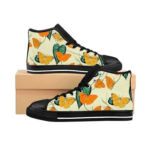 Butterfly Women's High-top Sneakers