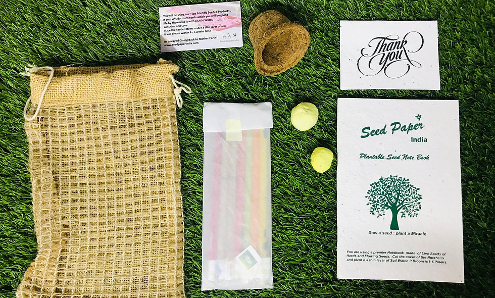 Plantable Seed Notebook