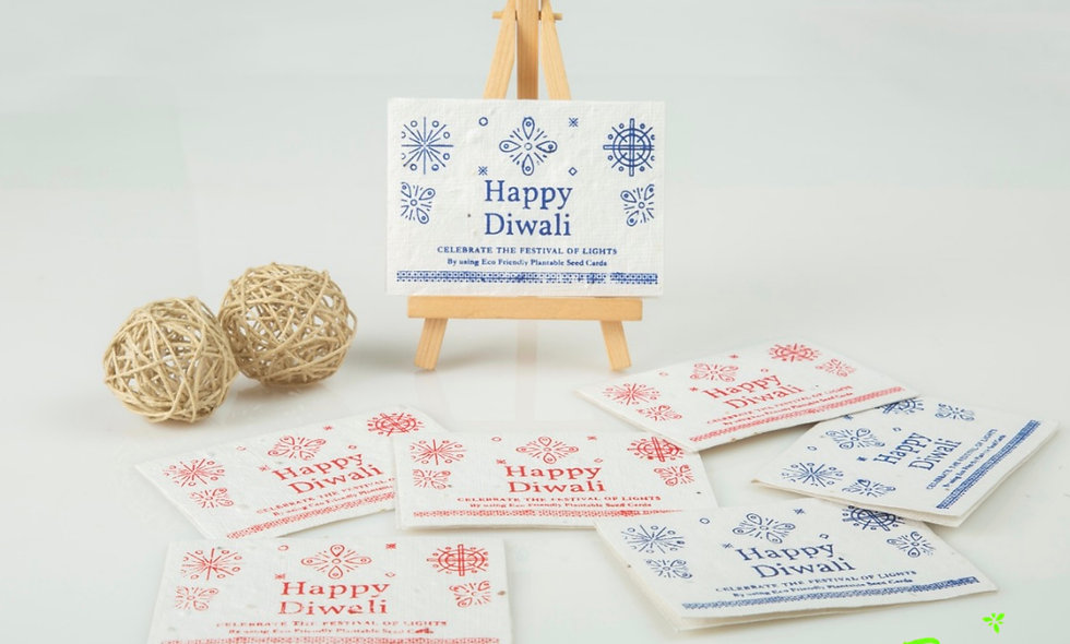 Plantable Diwali Seed Cards