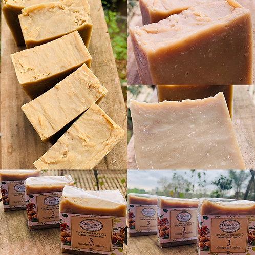 Sabonete Puro Vegetal 150G - Três Manteigas da Amazônia