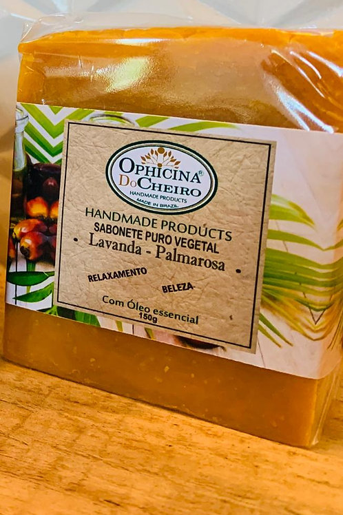 Sabonete Puro Vegetal 150G - Lavanda e Palmarosa