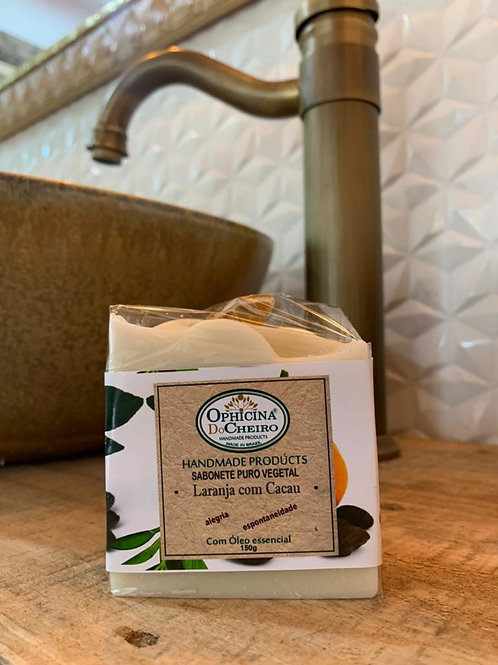 Sabonete Puro Vegetal 150G - Laranja com Cacau