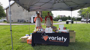 Variety Club Coffee Cart