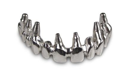 Reducirani most sa direktnim dosjedom u implantat