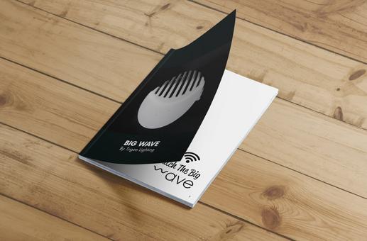 BIG WAVE - עיצוב קטלוג