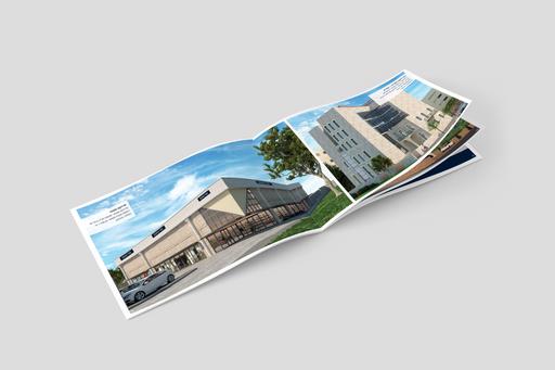 עיצוב קטלוג לחברת נדל״ן MGROUP