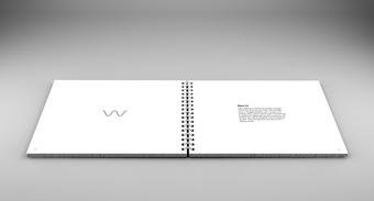 THE WAVE עיצוב קטלוג בינלאומי