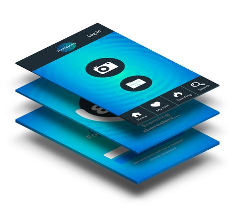 עיצוב מסכי אפליקציה