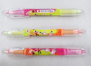 イエロー&ピンク、イエロー&オレンジ、ピンク&オレンジの3種類
