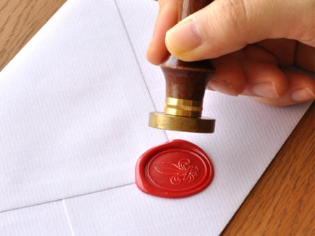 シーリングワックスでお手紙やプレゼントのラッピングにアクセントをつけてみませんか? 2F