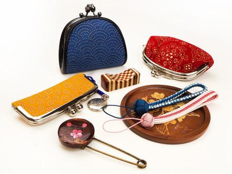 印伝と和の伝統工芸品フェア 1F
