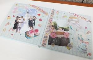 写真やマスキングテープなどを貼って記録したり、プレゼントにもおすすめです。