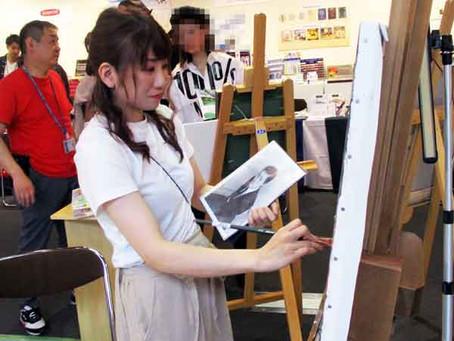 北海道初開催の画材ユーザーショーは本日5月11日まで!
