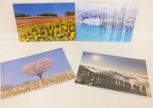 北海道各地で撮影された風景
