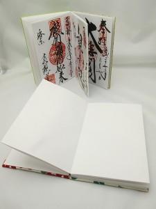 御朱印は神社や仏閣で直接書いて頂く墨書と印章です
