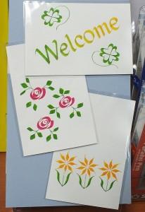 パラレルペンを使ってポストカードやメッセージカードを作ってみませんか?