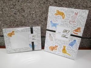 「20 Designs」は全て違う柄のレターパッド&封筒です!(1階)
