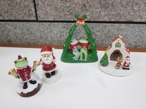 コポタロウやコポミ、サンタさんがモチーフのフィギュア