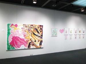 いがらしゆみこ先生の原画展示をはじめ、 北海道在住の漫画家の作品が大集合しています。