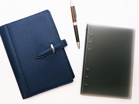 マルチに使える手帳 フランクリンプランナー「ポラリス エクスチェンジカバー&ベース」 2F