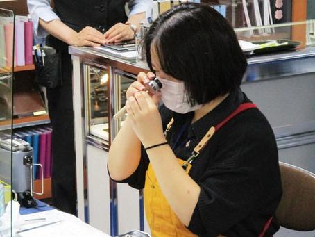 プラチナ万年筆の修理技術者・松田幸子氏によるペンクリニックを今年も開催! 2F