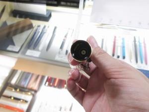 キャップに内蔵されているスリップシール機構