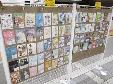 ゾウのウンチリサイクルペーパーのポストカードも登場!「さっぽろ円山動物園ポストカード展 2020」 BF