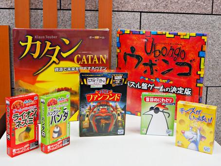 話題のボードゲームも!ジグソーパズル&ゲームフェア 1F