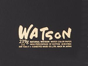 ミューズ 水彩紙「ワトソン」の名前の由来