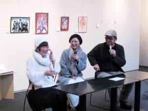 いがらしゆみこ先生と北海道の漫画家によるトークショーを開催しました。