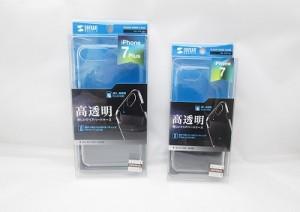 クリアハードケース iPhone7、iPhone7Plus