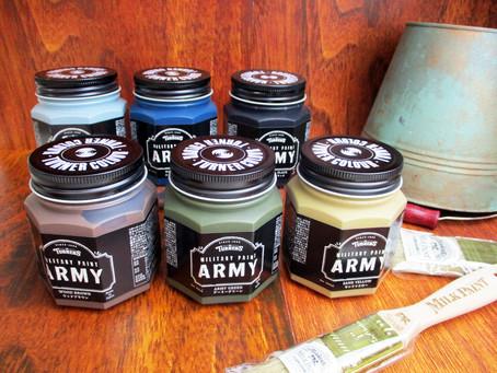 【新商品】塗るだけでミリタリーテイストになる塗料「ミリタリーペイントアーミー」のご紹介 3F