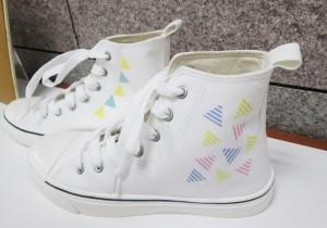 水洗いOKなので、靴に貼っても使えます。