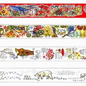 数量限定!本日発売の「果澄オリジナルマスキングテープ2016デザイン」(1階)