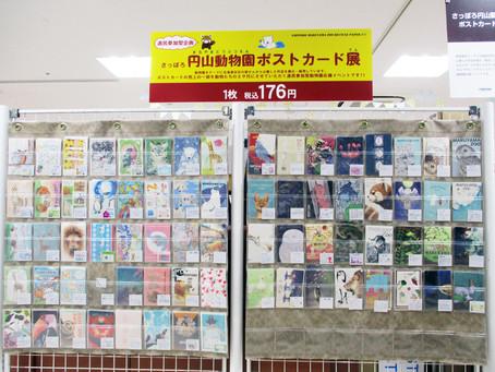 さっぽろ円山動物園ポストカード展を開催中! 3F