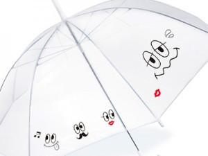 傘に貼るシール「カサニー」