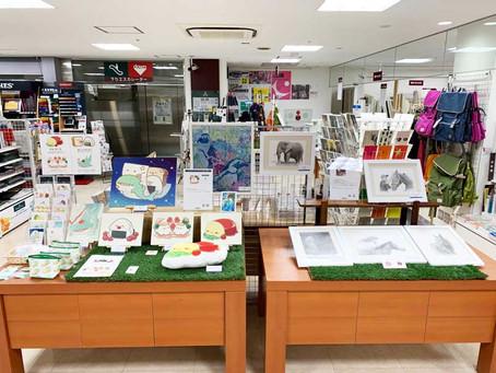 セントラルライブペイントバトル 大賞受賞記念作品展開催中! 3F
