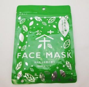 お茶フェイスマスク