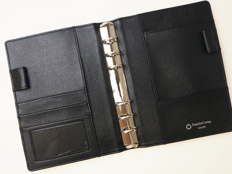 時間をマネジメントする手帳 フランクリンプランナー「マイクロファイバー・バインダー」が入荷しました 2F