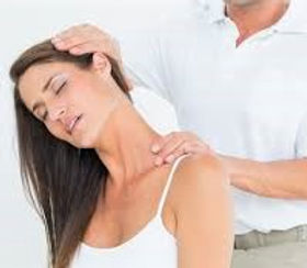 Ottawa chiropractor performing Active Release Technique on a patient's upper trapezius
