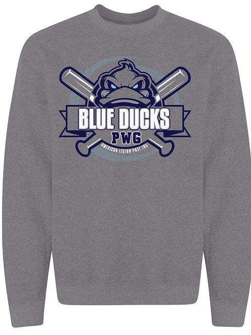 Blue Ducks Crew Graphite Heather
