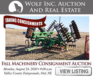 Wolf Real Estate Fall Consignment Auctio