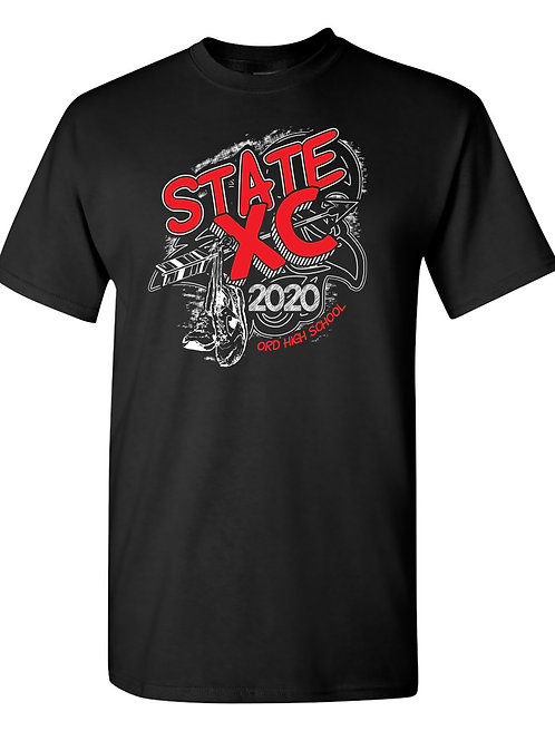 2020 OHS State Cross Country Short Sleeve Shirt