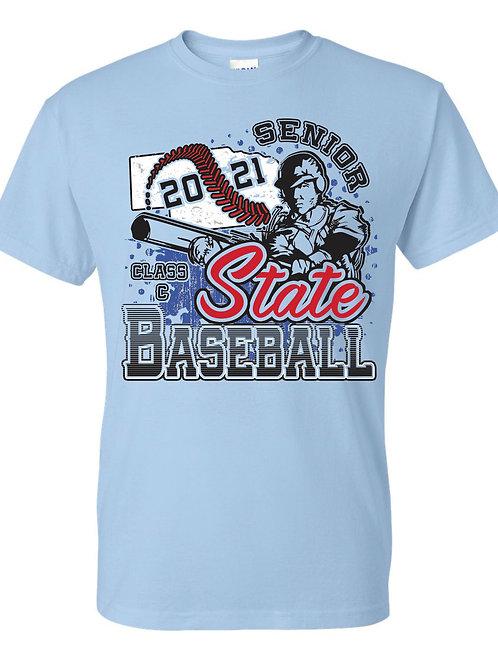 Senior Class C State Baseball - Light Blue